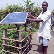 REEEP A Sunflower solar powered irrigation pump Credit Futurepump small